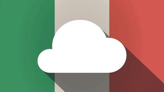 cloud mercato italia