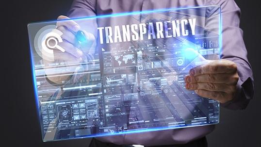 new media transparency