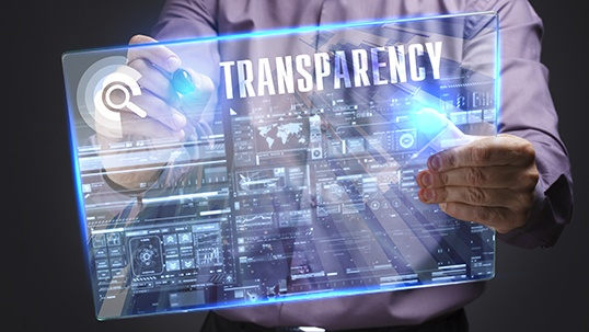 new media transparency