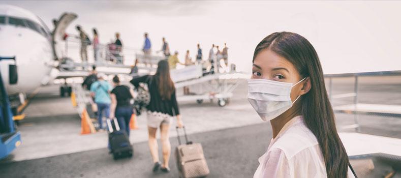 viaggi ai tempi del coronavirus